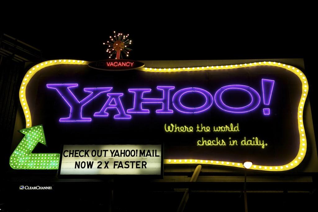 Photo of Yahoo! eventually won…
