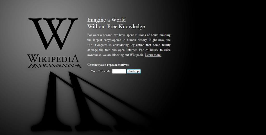 wikipedia defamatory contents