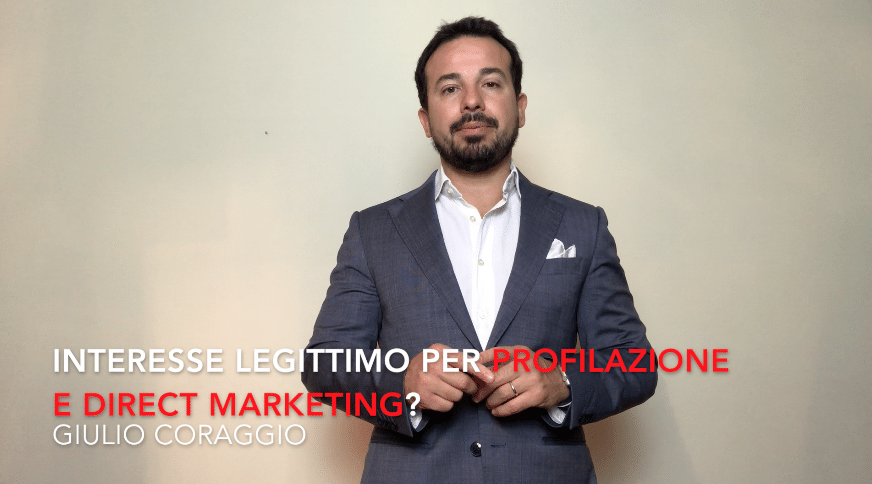 Photo of L'interesse legittimo per profilazione e direct marketing?