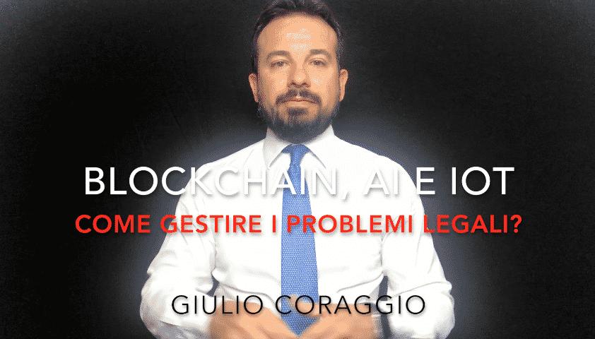 blockchain problemi legali