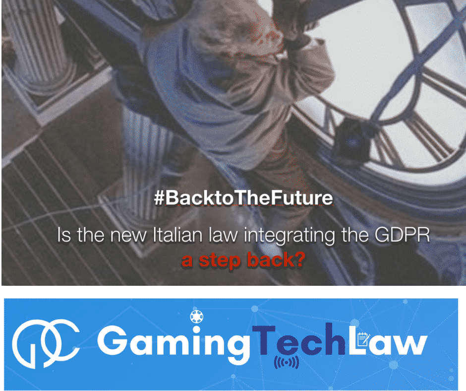 Photo of Top 5 takeaways from event on Italian GDPR implementation law