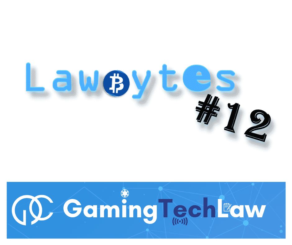 Photo of LawBytes #12 – EU cryptocurrency regulatory framework and Copyright Directive approval