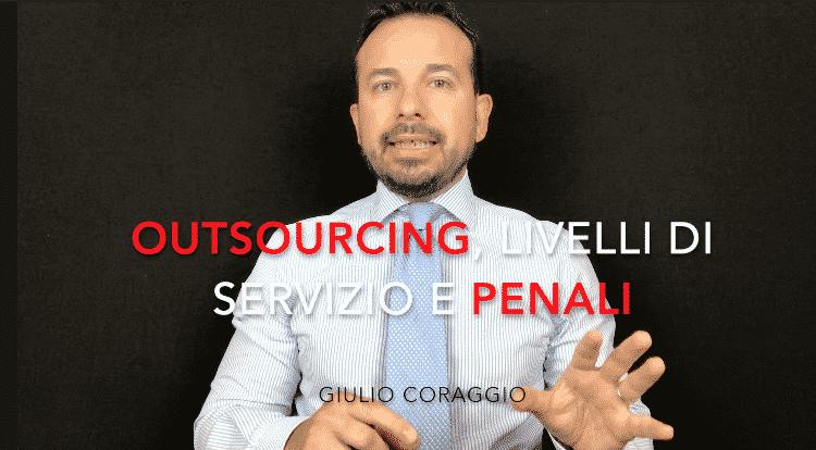 contratti outsourcing livelli servizio
