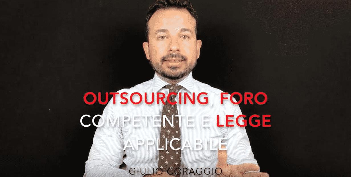 contratto outsourcing legge