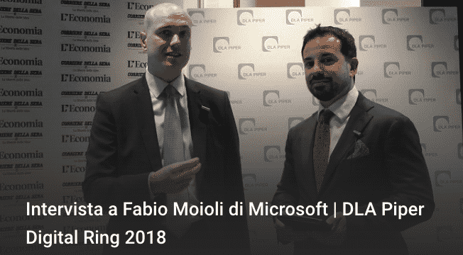 Photo of Intervista a Fabio Moioli di Microsoft | DLA Piper Digital Ring 2018