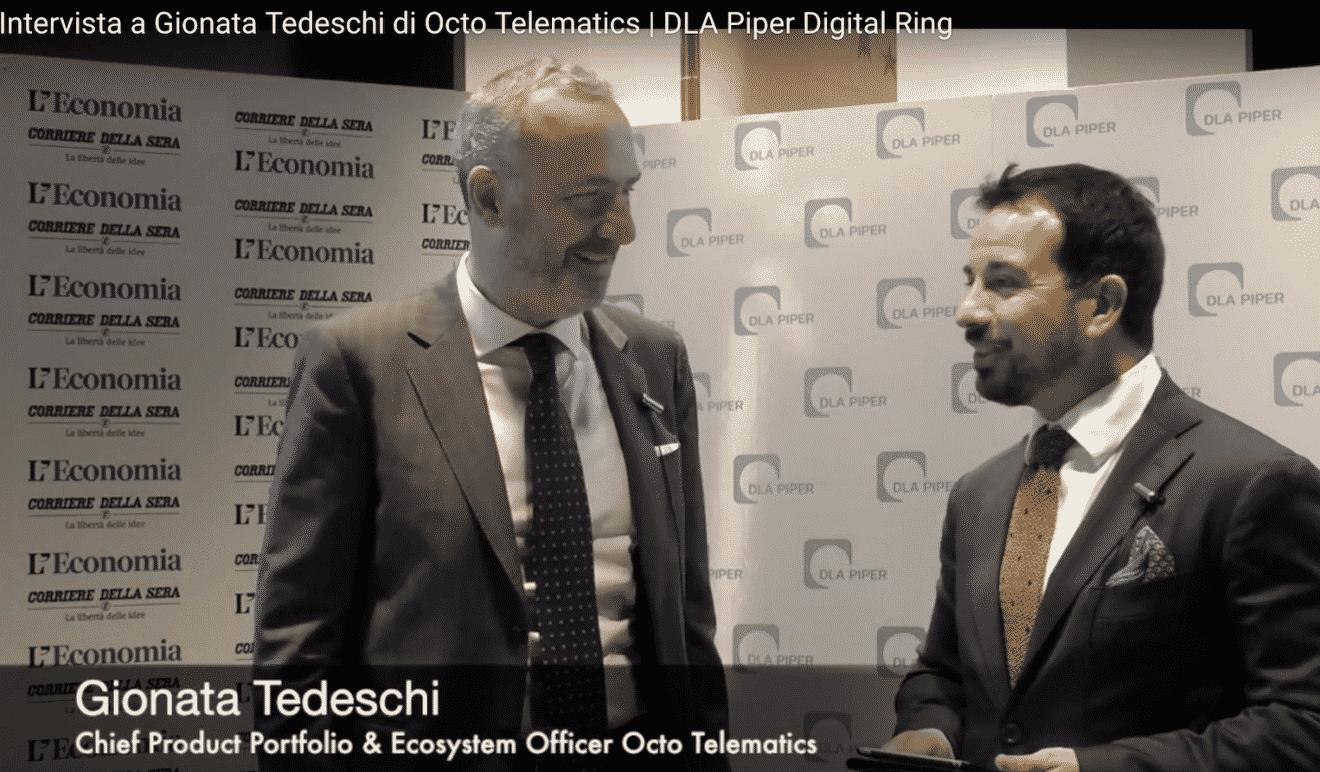 Photo of Intervista a Gionata Tedeschi di Octo Telematics | DLA Piper Digital Ring