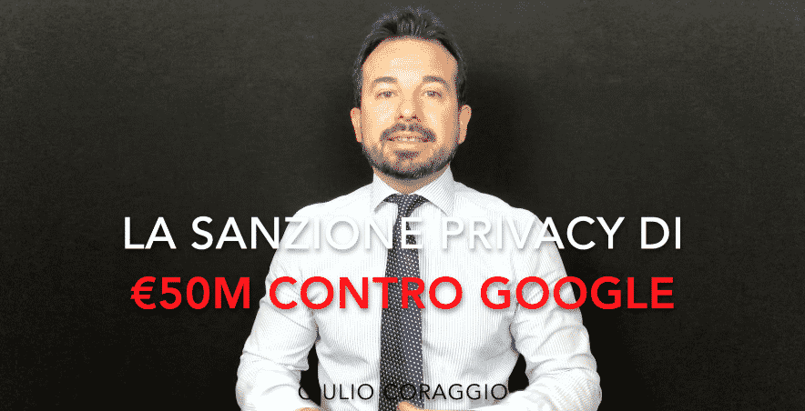 sanzione privacy Google