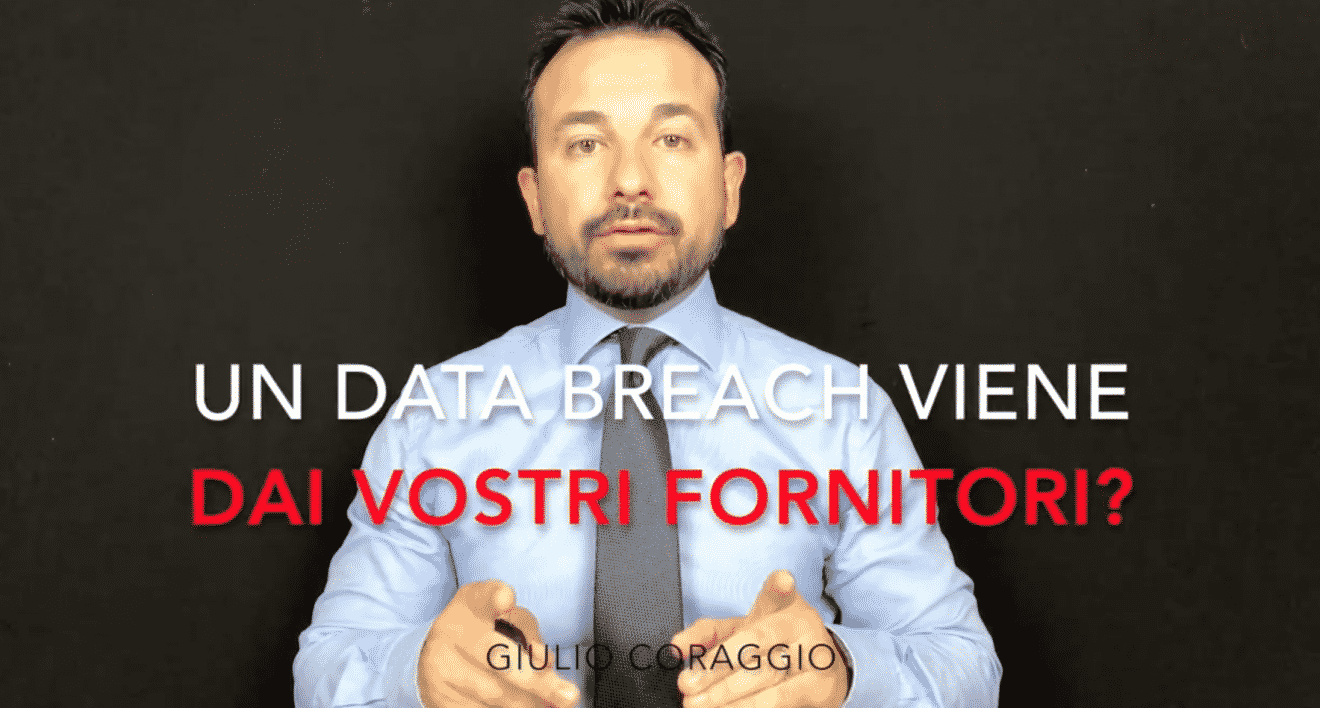 Photo of Un data breach può venire dai vostri fornitori con il GDPR?