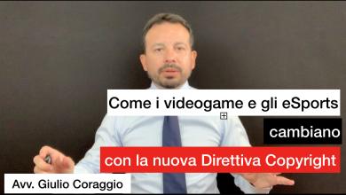 videogame direttiva copyright