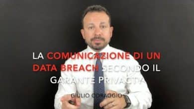 Photo of La comunicazione di un data breach secondo il Garante privacy